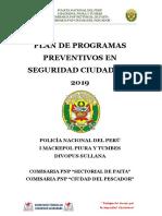 PLAN DE PROGRAMAS PREVENTIVOS EN SEGURIDAD CIUDADANA 2019.pdf