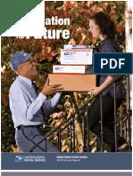 United States Postal Service annual report 2010