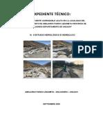 informe cuenca hidrologica
