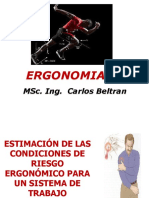 3. CLASE 3 - CONDICIONES DE RIESGO ERGONOMICO