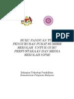 Buku Panduan Tugas  Pengurusan  PSS Untuk GPM