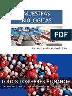 3. MUESTRAS BIOLOGICAS