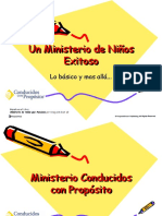 Un Ministerio de Niños que Funciona
