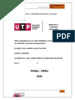 RESUMEN DE LOS TRES PRIMEROS CAPITULOS DE EL PRINCIPE DE MAQUIAVELO