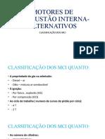 MOTORES DE COMBUSTÃO INTERNA-ALTERNATIVOS