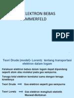 Modul 3 Teori Elektron Bebas