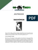 Akutagawa - Rashomon