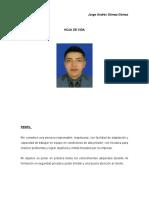 HOJA DE VIDA ANDRES GOMEZ