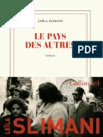Leïla Slimani, Le pays des autres.pdf
