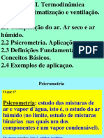 2. Aula Tema II  Principios Termodinamicos. Ar humido.