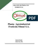 Declaracion de impacto ambiental, (Diseño de plantas)