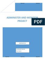 Adminester and Monitor Project