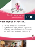 1. Historia nauka o przeszłości