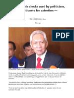 Ombudsman and SALN