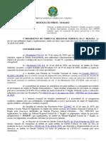 Resolução Presi 10164462 - Prorroga, no âmbito da JF1, em parte, o regime de plantão extraordinário