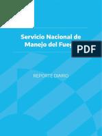 INFORME Servicio Nacional de Manejo del Fuego