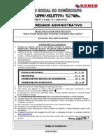 olhonavaga • PROVA • Coned • SESC - PA • Encarregado Administrativo.pdf