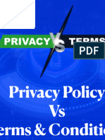 Privacy Policy vs Terms & Conditions // An Ultimate Guide to Differences in The two documents