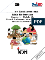 DRRR Q1-Module-10-Hazard-Its-Impact-Identification-and-Risk-Assessment-08082020