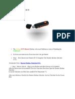 How to Unlock Huawei E173