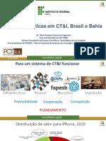 Políticas Públicas CT&I - IFBA 2020