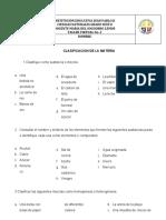 TALLER No. 2 CLASIFICACION DE LA MATERIA