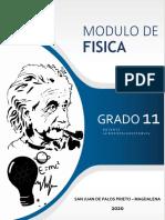 MODULO DE FISICA GRADO 11