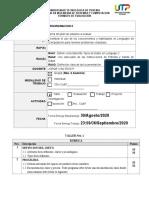 Taller No. 1 - Tipos  - Variables - Entrada - Salida de Datos