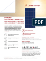 Canadian-Solar-DS-Dymond-CS6X-P-FG-High-Efficiency-340-350W-1000-1500V-Mar18