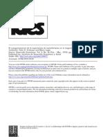 Eriksson, J. - El comportamiento de la exportacion de manufacturas en Argentina 1951-1965