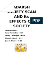 Adarsh Society Scam