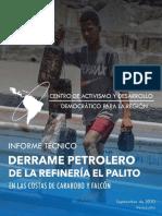 Informe Derrame Petrolero -CDDLATAM - 2020