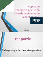 approche Thérapeutique selon l'âge et la dent causale.pdf