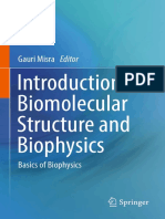 Introduction to biomolecular structure and biophysics basics of biophysics