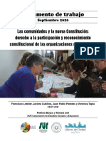 Las Comunidades y La Nueva Constitucion