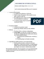 Capitulo 3 derecho internacional