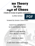 Game Theory in the Age of Chaos
