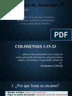 Cristologia ENCARNACION