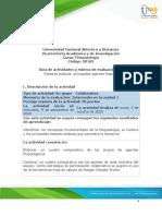Guía de actividades y Rúbrica de evaluación - Fase 2 Factores bióticos principales agentes fitopatógenos