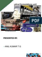 Pharmaceutical Formulation Unit