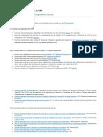 Listado de convenios de la OMI