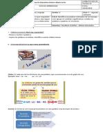 4° Guía de lenguaje # 5 segundo semestre