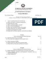 CMSG-II B.Sc. General PART-II Examinations, 2018