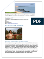 SFA Newsletter Winter 2014