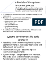 5. Normative Models of the systems development process