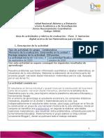 Guía de actividades y rúbrica de evaluación – Unidad 1 - Paso  2- Narración digital acerca de las Matemáticas para la vida (1).pdf