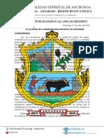 RESOLUCION DE ALCALDIA N° 122 DESIGNACION SUB GERENTE DE INFRAESTRUCTURA ING.