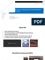 Windsor_Introduction to the SharePoint Framework