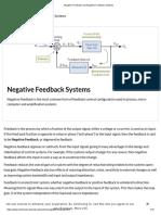 Negative Feedback and Negative Feedback Systems.pdf