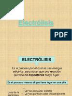 18   Electrólisis